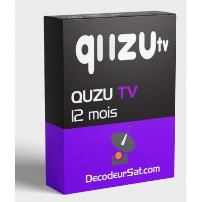 QUZU TV pour tous les SMART TV